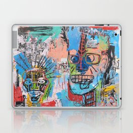 Close your eyes and breathe deeply Laptop & iPad Skin