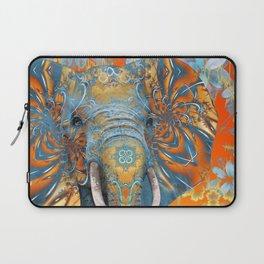 The Happy Blue Elephant Laptop Sleeve