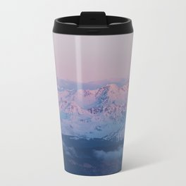 Perfect sunrise in South Tyrol - Landscape and Nature Photography Metal Travel Mug