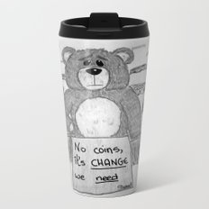 Sad bear 2 Metal Travel Mug
