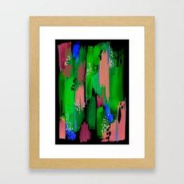 Seaside Abstract Framed Art Print