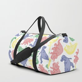 Dinosaurs in Color Duffle Bag