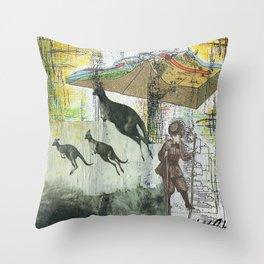 Adaptation Throw Pillow