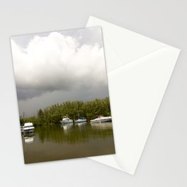 On a stormy day Stationery Cards