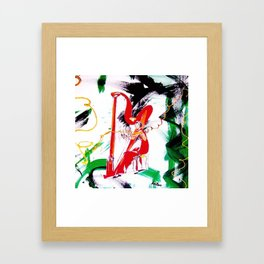 The Harpist            by Kay Lipton Framed Art Print