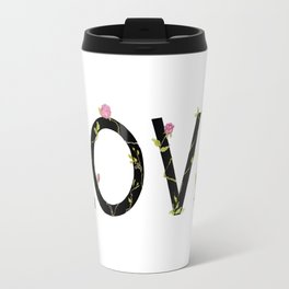 LOVE in bloom Travel Mug