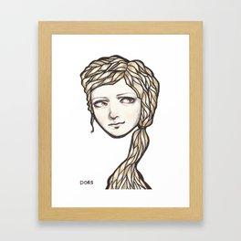 Lollie Framed Art Print