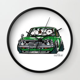 Crazy Car Art 0142 Wall Clock