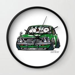 Crazy Car Art 0142 Wall Clock