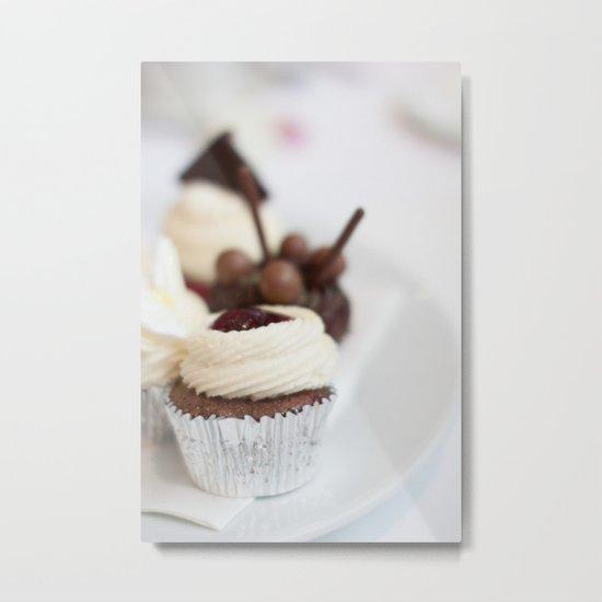 Cream Cakes  Metal Print