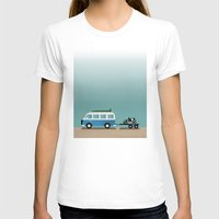 vans T-shirts featuring Surf Vans by Billy Hrncir