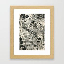 Stunt Framed Art Print