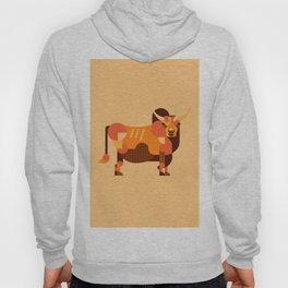 Bull Orange Hoody
