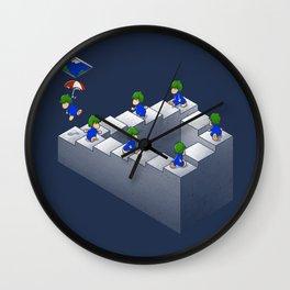 Lem C. Escher Wall Clock