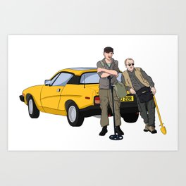 Detectorists - Lance & Andy - DMDC Art Print