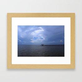 The Pier at Bokeelia I Framed Art Print