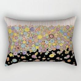 Suspending the Dots Rectangular Pillow