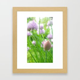 Born to Chive Framed Art Print