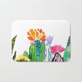 A Prickly Bunch Bath Mat