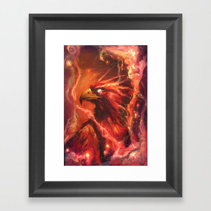 Fawkes Framed Art Print