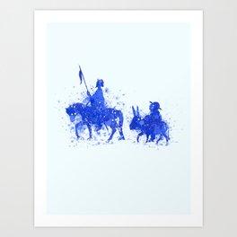La Mancha Art Print