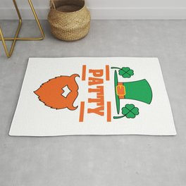 """""""It's Patty Time""""  tee design. Makes an awesome gift to your family and friends too! Grab your now!  Rug"""