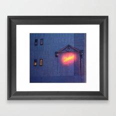 Sachas Hotel Framed Art Print