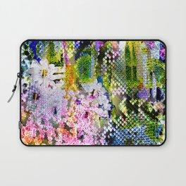 snake flowers Laptop Sleeve