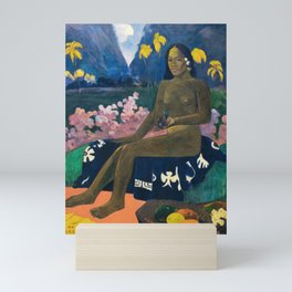 The Seed of the Areoi by Paul Gauguin Mini Art Print