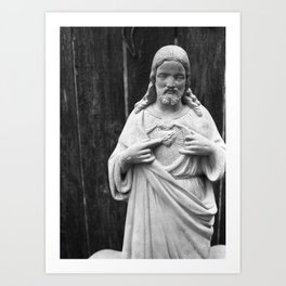 Chocolate Candy Jesus Christ Art Print