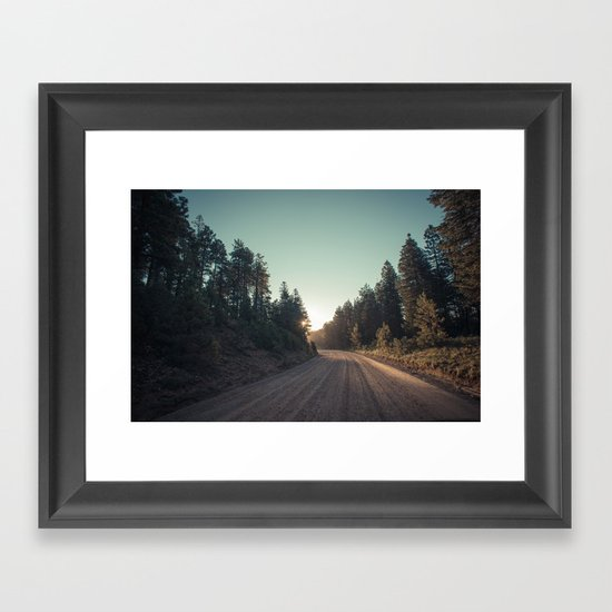 Sitgreaves Sunrise Framed Art Print