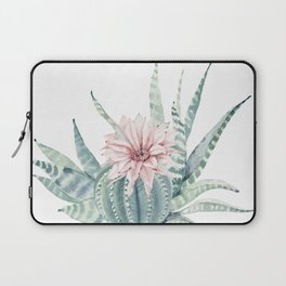Petite Cactus Echeveria Laptop Sleeve