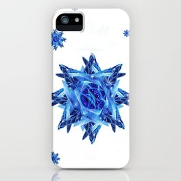 duck tail snowflake 22 iPhone Case