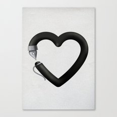 Love to write Canvas Print