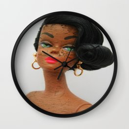Shanelle Doll Wall Clock
