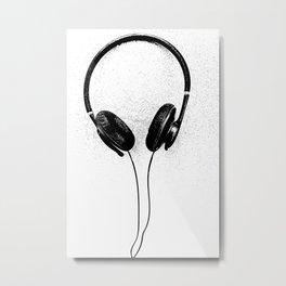 Music Alien II Metal Print