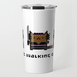 The Walking Cat - Meowchonne Travel Mug