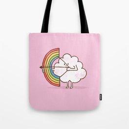 rainBOW pink Tote Bag