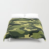 military Duvet Covers featuring Military  by ''CVogiatzi.