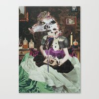 perfume Canvas Prints featuring PERFUME by Vahge
