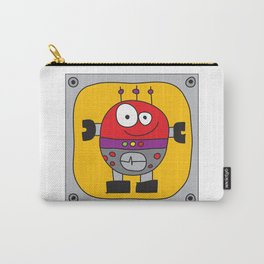 Circle Robot Carry-All Pouch