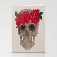 grateful dead Stationery Cards featuring Grateful by EmDem