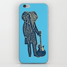 Elephant Guitar Player iPhone & iPod Skin