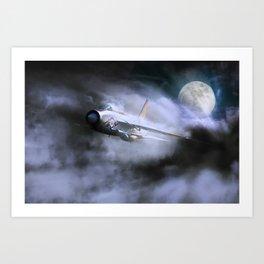 Thunder and Lightning Art Print