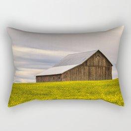 Withdrawn Rectangular Pillow