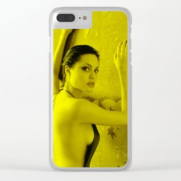 Angelina Jolie - Celebrity Clear iPhone Case