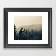Mists of Noon Framed Art Print
