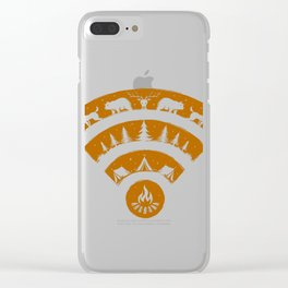 Stronger Connection Clear iPhone Case