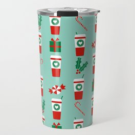 Peppermint Latte mint gender neutral coffee lovers gift for christmas food traditions to remember Travel Mug