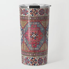 Shahsavan Azerbaijan Antique Tribal Persian Rug Travel Mug